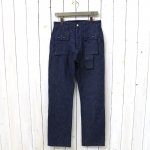 SASSAFRAS『G.D.U. PANTS(10oz DENIM)』(INDIGO)