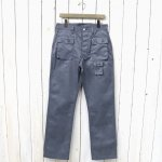 SASSAFRAS『G.D.U. PANTS(T/C TWILL 65/35)』(HEATHER GRAY)