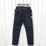 SASSAFRAS『FALL LEAF R SPRAY PANTS』(INDIGO)