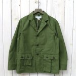 SASSAFRAS『G.D.U. LEAF JACKET(BACK SATIN)』(OLIVE)