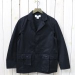 SASSAFRAS『G.D.U. LEAF JACKET(COTTON GABARDINE)』(NAVY)
