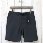 THE NORTH FACE PURPLE LABEL『Polyester Tropical Field Shorts』(Charcoal)