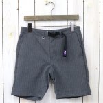 THE NORTH FACE PURPLE LABEL『Polyester Tropical Stripe Field Shorts』(Charcoal)