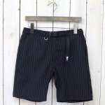 THE NORTH FACE PURPLE LABEL『Polyester Tropical Stripe Field Shorts』(Navy)