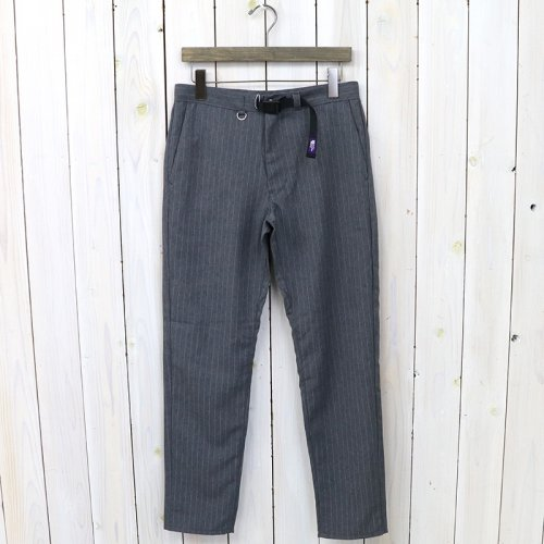 THE NORTH FACE PURPLE LABEL『Polyester Tropical Stripe Field Pants』(Charcoal)
