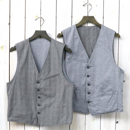ENGINEERED GARMENTS『Reversible Vest-Glen Plaid Poplin』