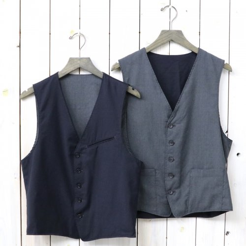 ENGINEERED GARMENTS『Reversible Vest-Tropical Wool』