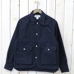SASSAFRAS『PLANT HUNTER JACKET(LIGHT WEST POINT)』(NAVY)