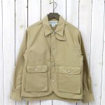 SASSAFRAS『PLANT HUNTER JACKET(LIGHT WEST POINT)』(BEIGE)