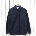 SASSAFRAS『WILD MASHROOM SHIRT(7.5oz DENIM)』(INDIGO)