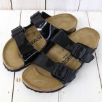 BIRKENSTOCK『ARIZONA』(Black Patent)