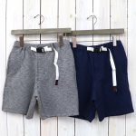 GRAMICCI『COOLMAX KNIT ZIPPER SHORTS』