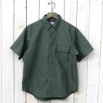 THE NORTH FACE PURPLE LABEL『Cotton Polyester OX B.D H/S Shirt』(Sage Green)