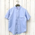 THE NORTH FACE PURPLE LABEL『Cotton Polyester OX B.D H/S Shirt』(Sax)
