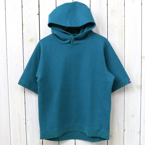 THE NORTH FACE PURPLE LABEL『Mountain H/S Sweat Parka』(Peacock Blue)