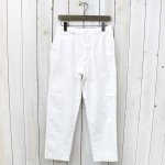 orSlow『ANTIQUE TROUSERS』(WHITE)