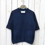【SALE特価60%off】CURLY『FOLKSY QS SWEAT』(NAVY)