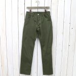 SASSAFRAS『SPRAYER 5 PANTS(SATIN)』(OLIVE)