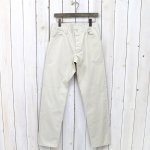 SASSAFRAS『SPRAYER 5 PANTS(SATIN)』(IVORY)