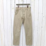 SASSAFRAS『SPRAYER 5 PANTS(SATIN)』(BEIGE)