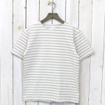 ANATOMICA『MARNIER CREW NECK TEE S/S』(Natural/Gray)