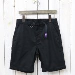 THE NORTH FACE PURPLE LABEL『COOLMAX® Stretch Twill Shorts』(Black)
