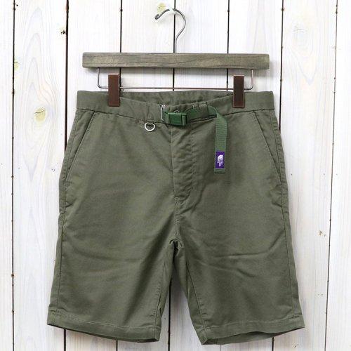 THE NORTH FACE PURPLE LABEL『COOLMAX® Stretch Twill Shorts』(Khaki)