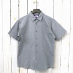 THE NORTH FACE PURPLE LABEL『Jersey H/S Shirt』(Mix Gray)