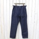 SASSAFRAS『FEEL SUN PANTS(10oz DENIM)』(INDIGO)