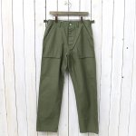 SASSAFRAS『FEEL SUN PANTS(BACK SATIN)』(OLIVE)