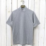 ANATOMICA『MOCK NECK TEE S/S』(Gray)