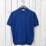 JOHN SMEDLEY『S3798-SHIRT SC SS』(STEVENS BLUE)