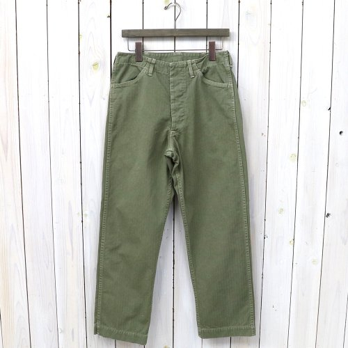 orSlow『USMC TROUSERS』(GREEN USED)