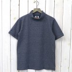 BARBARIAN『LIGHT WEIGHT MOCK NECK S/S』(NAVY×OXF)