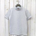 BARBARIAN『LIGHT WEIGHT MOCK NECK S/S』(ASH×WHITE)