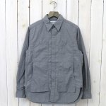SASSAFRAS『FEEL SUN SHIRT(RIPSTOP)』(CHARCOAL)