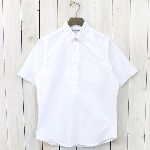 INDIVIDUALIZED SHIRTS『CAMBRIDGE OXFORD(PULL OVER S/S)』(WHITE)