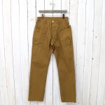 SASSAFRAS『WHOLE HOLE PANTS(OXFORD)』(BROWN)