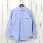 ENGINEERED GARMENTS WORKADAY『BD Shirt-Cotton Oxford』(Blue)