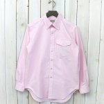 ENGINEERED GARMENTS WORKADAY『BD Shirt-Cotton Oxford』(Pink)