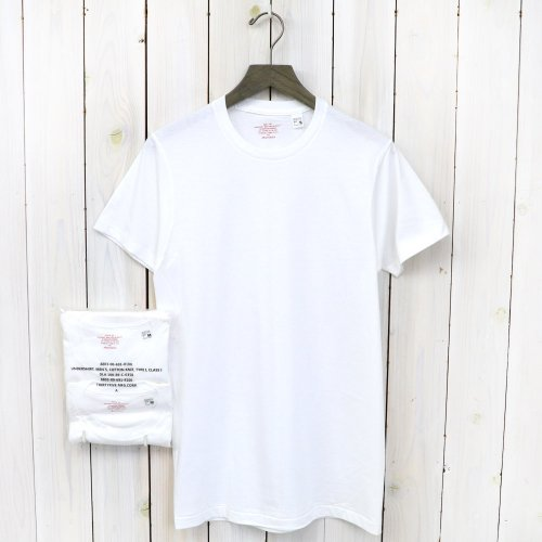 『2PACK TEE SUPIMA C-NECK』(White)