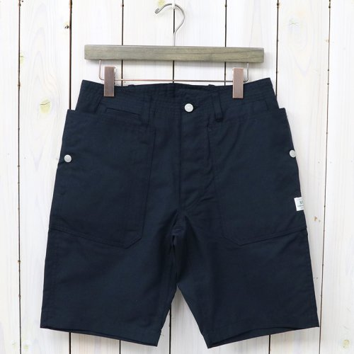 『FALL LEAF SPRAYER PANTS 1/2(C/N OXFORD 65/35)』(NAVY)