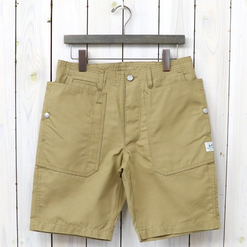 『FALL LEAF SPRAYER PANTS 1/2(C/N OXFORD 65/35)』(BEIGE)