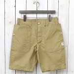 SASSAFRAS『FALL LEAF SPRAYER PANTS 1/2(C/N OXFORD 65/35)』(BEIGE)
