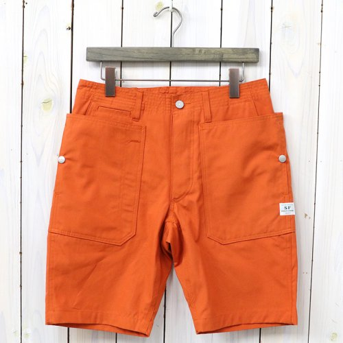 『FALL LEAF SPRAYER PANTS 1/2(WEEDS POPLIN)』(ORANGE)