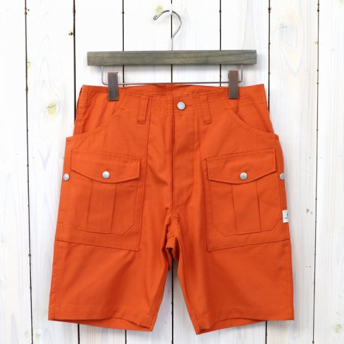 『BOTANICAL SCOUT PANTS 1/2(WEEDS POPLIN)』(ORANGE)