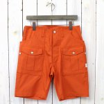 SASSAFRAS『BOTANICAL SCOUT PANTS 1/2(WEEDS POPLIN)』(ORANGE)