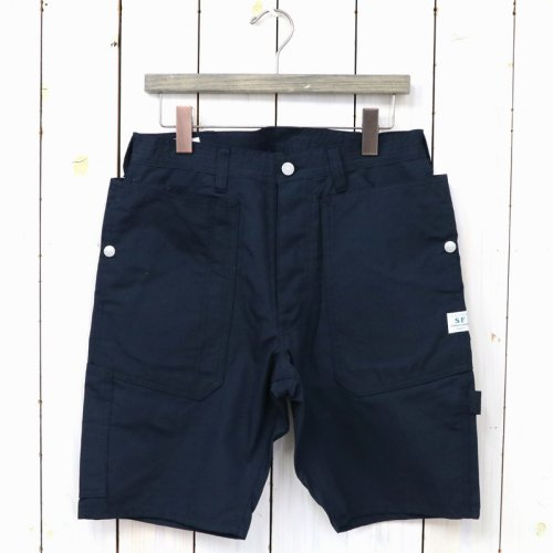 『FALL LEAF GARDENER PANTS 1/2(C/N OXFORD 65/35)』(NAVY)