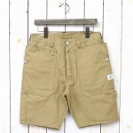 SASSAFRAS『FALL LEAF GARDENER PANTS 1/2(C/N OXFORD 65/35)』(BEIGE)