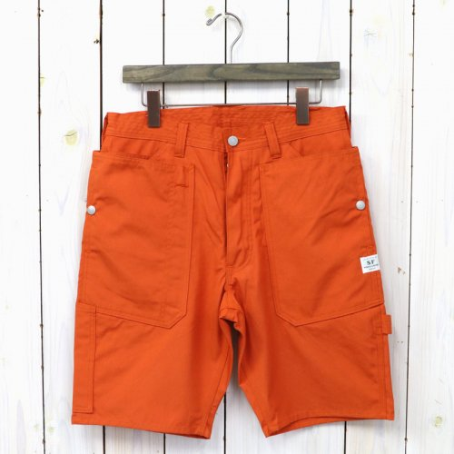 『FALL LEAF GARDENER PANTS 1/2(WEEDS POPLIN)』(ORANGE)